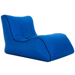 Lit gonflable paresseux canapé Portable de pliage de plein air du matériel d'atterrissage