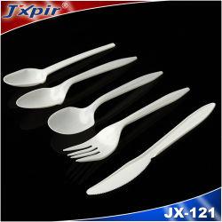 Wegwerftischbesteck-Plastikmesser-Löffel-Gabel-Picknick-Messer