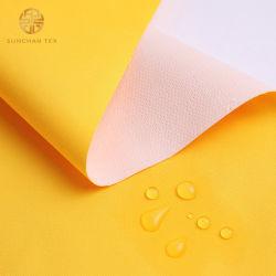 Pêssego de tecido da pele com película de poliuretano termoplástico para tampa impermeável