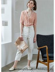 Nuove maglie moda donna, colore misto a stampa buona maglia tempo libero Abbigliamento casual donna