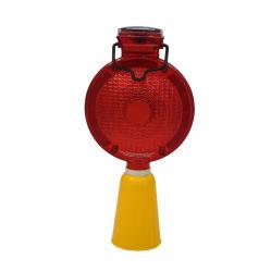 プラスチックのバリケードのトラフィックの警報灯