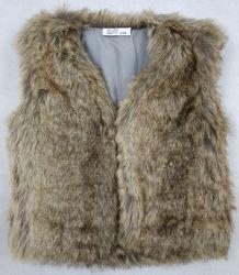 Fake Fur Vest para Girl