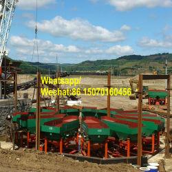 500tph Grande Capacidade Areia Aluviais Estanho Gabarito de Mineração planta de concentração