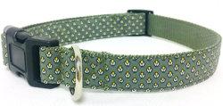 Collare di cane, collare modellato dell'animale domestico, collare del gatto, collare di cane riempito, collare su ordinazione, collare di cane reso personale (PCW0018)