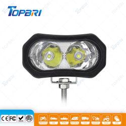 كوب 12 فولت ضوء CREE LED للعمل بالدراجة الهوائية طوفان الدراجة البخارية