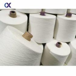 Gesponnen ring 20-jaren '40 van het Garen van de Polyester van Technieken de Ruwe Witte 100%