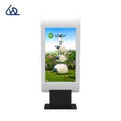 Het aangepaste Signage van het Scherm van de Aanraking Digitale Comité van het Aanplakbord van de Vertoning van de Tribune van de Vloer van de Kiosk Openlucht Waterdichte Adverterende