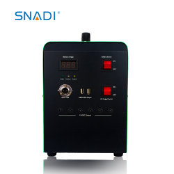 100ah 10A 12VDC電池携帯用DCの小型ホーム太陽エネルギーシステム5V USB 120W
