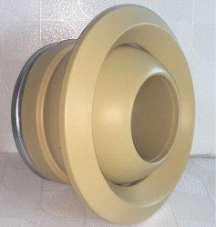 أجزاء مكيف الهواء تهوية جدار قابلة للضبط بواسطة ناشر الهواء المدورة