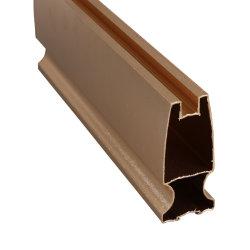 Perfil extrudido 6.063 de alumínio para portas e janelas de correr um
