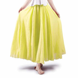 Frauen-böhmische elastische Taillen-Baumwollfußboden-Längen-Fußleiste