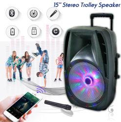 15inch de mini Digitale Spreker van de Muziekdoos met Navulbare Batterij
