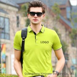 Promoção grossista Custom Logotipo Trackurits Ajuste a seco de algodão simples camisa Polo Golf Roupas Sports Top Polo camisas para homens
