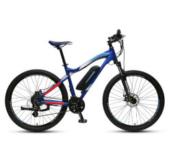 27.5 인치 산 전기 자전거 정면과 후방 유압 디스크 브레이크