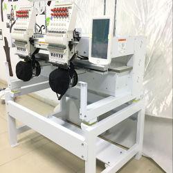 2 головки блока цилиндров с блока цилиндров тип Tajima компьютеризированной вышивальная машина с плоской платформой с