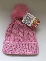 L'hiver tricot jacquard acrylique câble Fashion Beanie Hat personnalisé avec Diamond