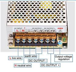 Ventilator, der 12V 33A 350W LED CCTV-Schaltungs-Stromversorgung abkühlt