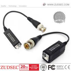 Heiße Verkaufs-Einfachkanal-passive video Lautsprecherempfänger CCTVvideoBalun CCTV-Kamera-kompakte Größe und einfache Installation