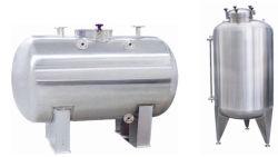 Le volume de l'eau liquide multi solvant cuve sous pression du réservoir de stockage