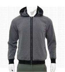 Homens Moda Estilo Fitness com capotas Inverno Fleece Jacket