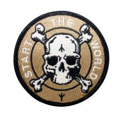 Logotipo de Design Personalizado Bordados Monograma Ombro uniforme militar Patch do Braço