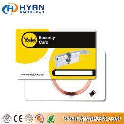 Savoirs traditionnels en plastique personnalisé4100 em4102 em4100 em4200 125kHz de la puce RFID Carte d'ID de contrôle d'accès