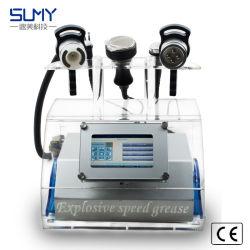 Hot Sale 5I N 1 de la cavitation RF Lipolaser vide amincissant la perte de poids corporel de la machine de beauté