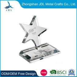 подарок для продвижения высокого качества на заводе оптовой Custom умирают обрушился на латунные сувенирный металлический экран Award трофей (012)