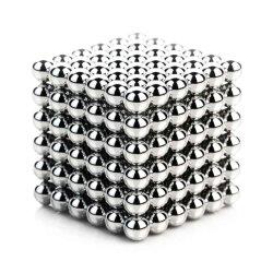 مغانط فضية 5 مغانط مكعب كتلة لغز شكل حاملات المغناطيسي مربع مكعب الأطفال لغز ماجيك مكعب ألعاب