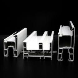 Белый цвет ПВХ профиля пвх окон ПВХ сдвижной двери с помощью пластмассовых материалов