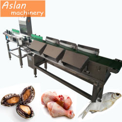 치킨 윙/오이스터/시바스 웨이트 정지 기계 / 바다 음식 무게 소터
