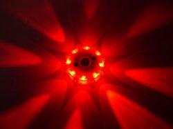 再充電可能な警報灯、LEDの路傍の安全力の火炎信号LEDの緊急のディスク、応答の手段ライト
