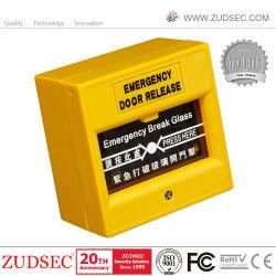 Suelte el botón de emergencia de buena calidad para el sistema de control de acceso