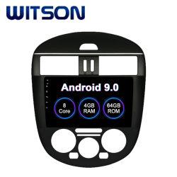 Android Market 9.0 Indash Witson Octa-Core aluguer de DVD para 2011-2015 TIIDA NISSAN Versão Air-Conditioner Manual