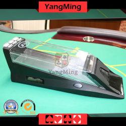 マカウの火かき棒のカジノチップ(YM-DS06)への8つのデッキのトランプのための賭ける火かき棒のディーラーの靴