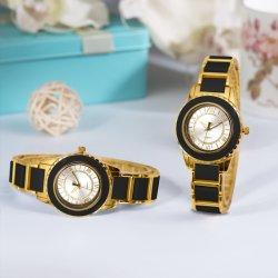 Großhandels-Soem-Form-Geschenk-Frauen-Quarz-Armbanduhr (JY-AL075)