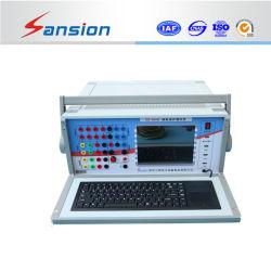 Micro-Computer contrôlés de six 6 relais de protection de la phase Test Set
