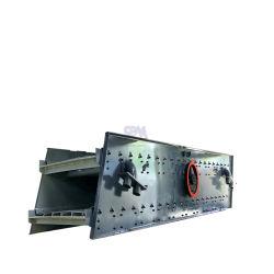 As telas vibratório industrial de alta eficiência minério de ferro nas telas de vibração