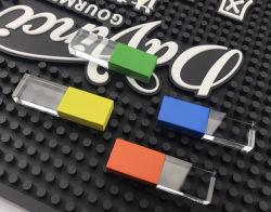 Новые металлические винты с головкой под стеклянной крышкой цвета USB 2.0 флэш-памяти 4G 8ГБ 16Gig ключ привода пера