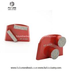 HTC 돌 금속 콘크리트 테라조를 위한 닦는 다이아몬드 Lavina 가는 절단 도구