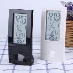 Dom Horas Despertador transparente com visor LCD e temporizador