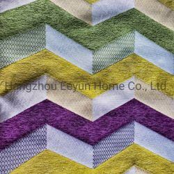 Revestimento têxtil inicial Jacquard, Pelúcias Material para sofá, tecido de Cortina de tecido para sofá, Cortina, mobiliário e deite travesseiro