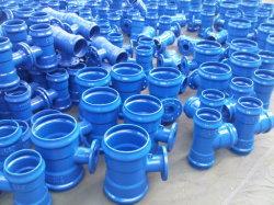 Raccord de tuyau en PVC de fonte ductile pour tuyau de PVC