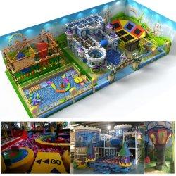 Equipo de juegos de interior con Trampoline Work and Soft Adventure (HD-16SH02)