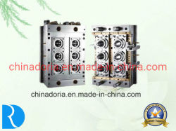 6/seis canales calientes de la cavidad de la preforma Jar/molde de inyección de plástico de la preforma