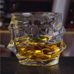 100%のワイングラスのDrinkwareのウィスキーのガラス材料およびFDAのSGSの証明のウィスキーの飲むガラス