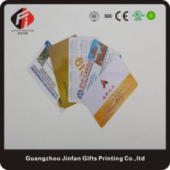 Custom Companyのロゴの試供品のプラスチック製品旅行VIPカード