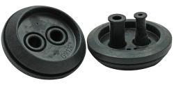 Amortiguador caucho para amortiguación utiliza diferentes