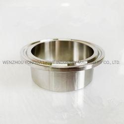 Puntale premuto adatto sanitario dell'accessorio per tubi dell'acciaio inossidabile tri