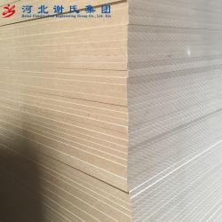 Preiswertes Preis-Qualitäts-Melamin Belüftung-Rand-Furnier-Blatt lamellierte Spanplatte für Schranktüren/Möbel